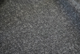 Tweed material by the metre or yard in plain charcoal/dark grey gray
