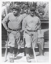 Babe Ruth & Lou Gehrig 8X10 Photo New York Yankees Ny Baseball Picture On Step - $3.95