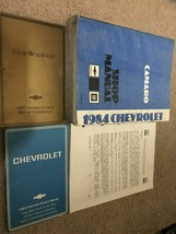 1984 GM Chevrolet Chevy Camaro Service Shop Repair Manual Set W Owners m... - $69.24
