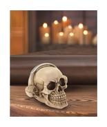Rockin' Headphone Skull Figurine Desk Shelf Decor - $19.18