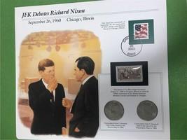 JFK Debates Richard Nixon September 26, 1960 Collector Page - $7.90