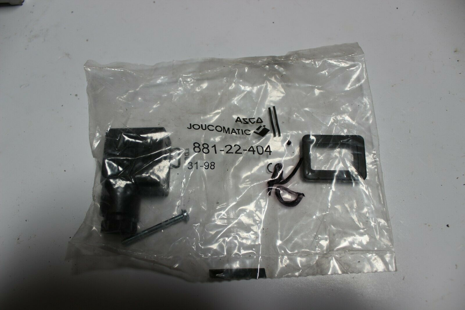 Asco 881-22-404 Joucomatic Connector Kit New Pack of 2