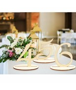 Wooden Table Seat Cards Holder Rustic Wedding Birthday Party Table Decor... - $12.86+