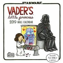 Vader's Little Princess 2019 Calendrier Mural, Par Chroniques Livres