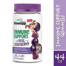 Children's Dimetapp Elderberry Gummies 44 Count Immune Support for Kids, Vitamin