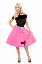 """""""PINK POODLE SKIRT"""" - ADULT SIZE XL - FUN@HALLOWEEN NEW - $22.91"""