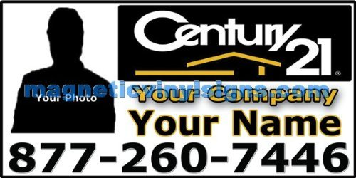 Century 21 Realty - 12x24 Magnetic Sign - 01