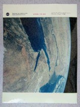 Official NASA photo  1996 earth view Columbia Mediterranean Red Sea Africa - $16.66