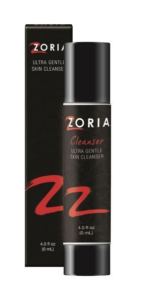 Zoria Ultra Gentle Skin Cleanser - 4oz (No Oils, Dye) 2 pack  8oz