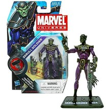 Marvel Year 2009 Series 2 Marvel Universe 4 Inch Tall Figure #024 - SKRULL Soldi - $37.99