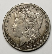 1899 MORGAN SILVER $1 DOLLAR Coin Lot# 519-33