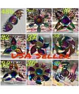 Multi-Chrome Rainbow Multiple Choices Metal fidget Hand Spinners-USA Seller - $9.90+
