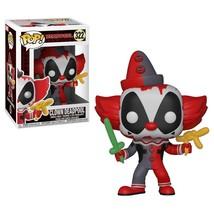 Marvel Comics Deadpool as an IT! Clown Vinyl POP! Figure Toy #322 FUNKO ... - $12.55