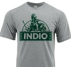 Indio Beer Dri Fit graphic T-shirt moisture wicking sun shirt polyester SPF tee image 1