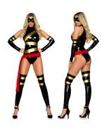 Ninja Superwoman Bodysuit Zentai Morphsuit Cosplay Costume - $29.86