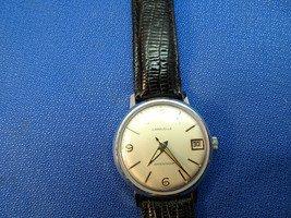 1960'S 11 DPD JAPAN CARAVELLE WINDUP WATCH RUNS TO RESTORE CROWN - $85.50