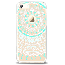 Cell Phone Case for Apple iPhone 7 Cases Cover Acrylic Clear Teal Green ... - $9.95