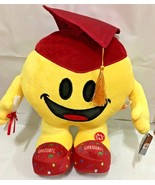 2018 Graduation Emoji Pillow 13.5'' INCHES with SOUND / RED HAT & FOOT - $25.73