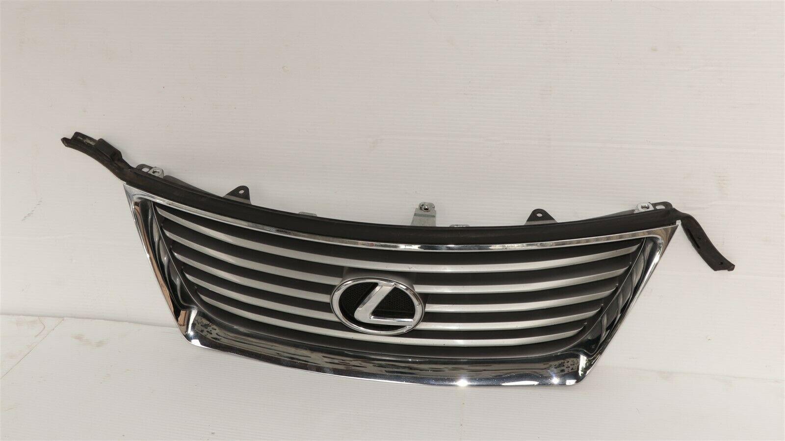 07-09 Lexus ES350 Upper Bumper Radiator Chrome Grill Grille W/Emblem