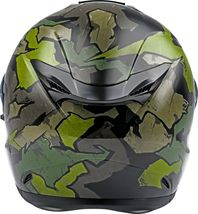 XL Fly Racing Sentinel Ambush Motorcycle Helmet Camo/Green/Grey DOT & ECE  image 3