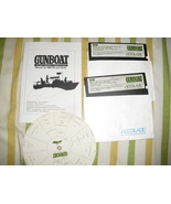 USED GUNBOAT 1990 Accolade IBM Tandy PC Vintage Computer Game - $19.79