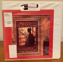 Puccini - The Great Opera Collection CD, Mar-2008, 15 Discs, Decca Ex-li... - $19.80