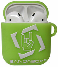 BANDABOX Apple Airpods Earbuds Case Protective Silicone Rubber Glow Gree... - $8.90