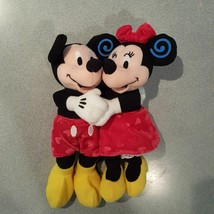 "Mickey Minnie Mouse Plush Bean Bag Toy 8"" - $12.86"