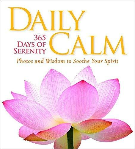 Daily Calm: 365 Days of Serenity [Hardcover] National Geographic