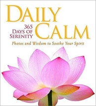 Daily Calm: 365 Days of Serenity [Hardcover] National Geographic image 1