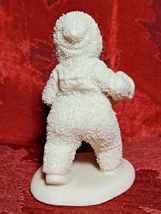 """White 4"""" Department 56 Snowbabies Marching with Accordion Figurine  image 3"""