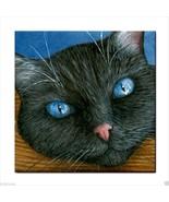 Tile Coaster Cat 414  from original Art Unique Design - $13.99