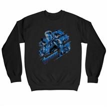 Avengers Endgame Group Logo & Cast Adults Unisex Black Sweatshirt - $31.34
