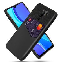 Bakeey for Xiaomi Redmi 9 Case Luxury PU Leather + Cloth with Card Slot Shockpro - $16.99