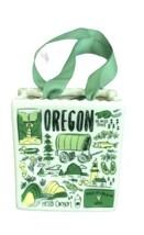 Starbucks Holiday OREGON Ceramic Ornament Tote Bag Gift Card Holder NEW - $22.65