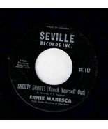 Ernie Maresca Shout Shout Knock Yourself Out 45 rpm Crying Like A Baby O... - $4.74