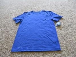BNWT Nike Dri-Fit Men's short sleeve crew neck tee, blue stripe, size M,... - $27.72