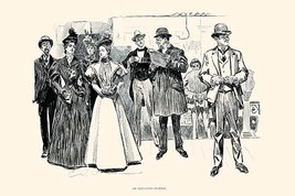 An Elevated Station by Charles Dana Gibson - Art Print - $19.99+
