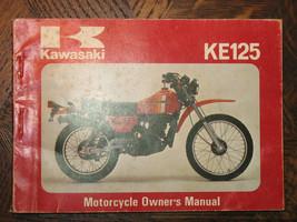81 Kawasaki KE125-A8 Ke 125 Oem Original Driver's Owner's Manuell - $74.95