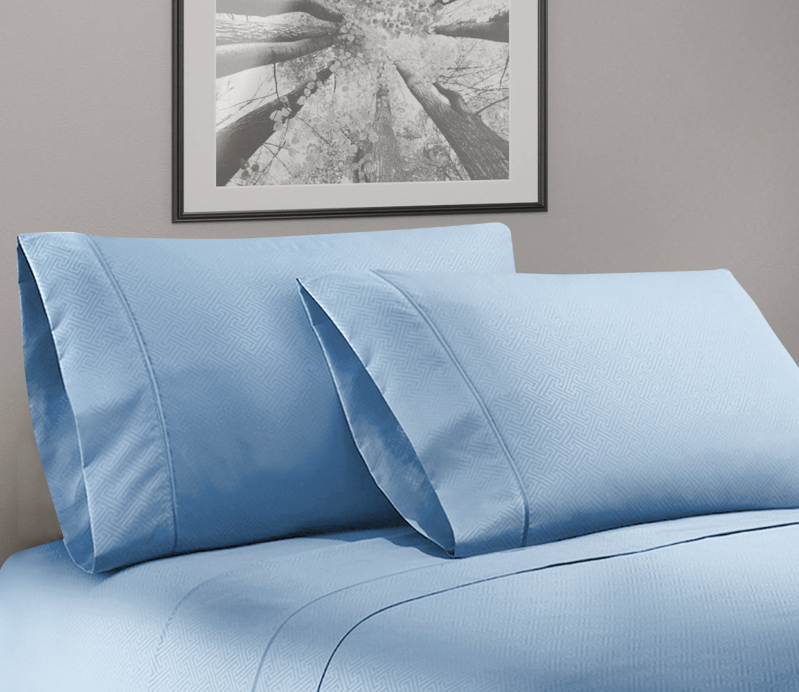Super Soft Luxurious Bassano 1800 Series Deep Pocket Sheet Set