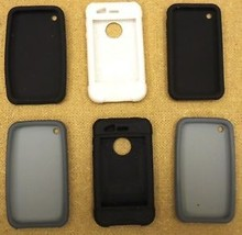 Silicone Skin Cases for Apple iPhone - Batch of 6 - $25.14