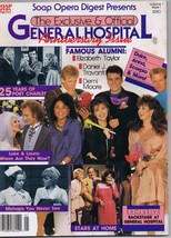 ORIGINAL Vintage 1988 Soap Opera Digest General Hospital Anniversary Issue - $18.51
