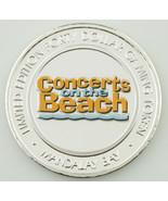 Mandalay Bay Concerts sur la Plage Colorisé Casino Gaming Token, Argent - $79.11