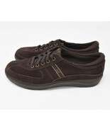 Keds Women's Sz 9.5 EU 40.5 Brown Leather Lace Up Oxford Sneakers WH35485M - $24.95