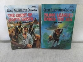 Great Illustrated Classics Set, Count Of Monte Cristo, 20000 Leagues - $3.99