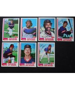 1982 Topps Traded Cleveland Indians Team Set of 7 Baseball Cards - $11.95