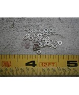 Flat Washers .110'' OD .056'' ID .016 Thick Stainless Steel LOT of - 50#... - $23.85