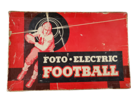 Foto Electric Football Board Game 1953 Works - $29.95