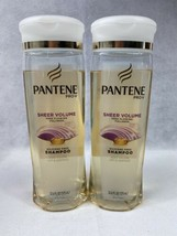 2x Pantene Pro -V Sheer Volume With Collagen Shampoo Silicone Free - $16.95