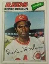 1977 Topps Pedro Borbon #581 Cincinnati Reds Baseball Card - $20.00